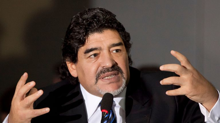 Diego Maradona: Claims that he was rejected entry
