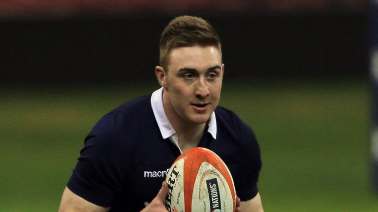 Dougie Fife: made his Scotland debut against Wales last month
