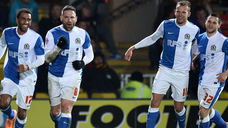 David Dunn on the scoresheet for Rovers in the 3-3 draw