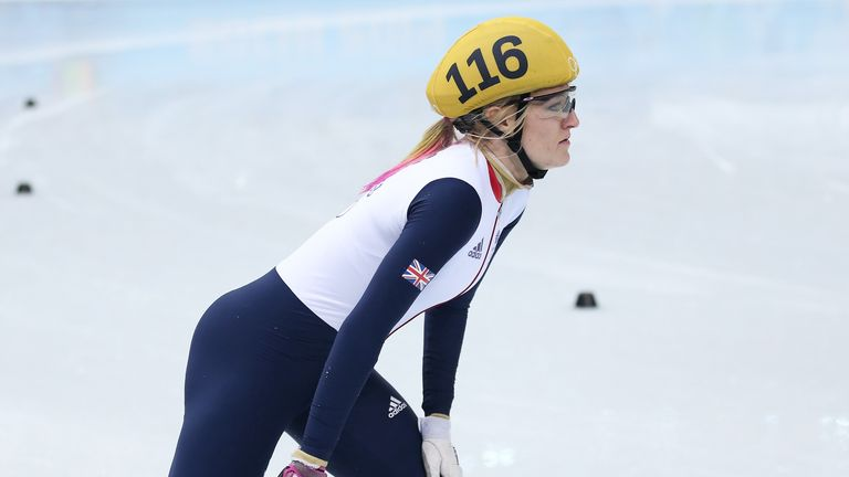 Elise Christie: Fourth place for Scot in final