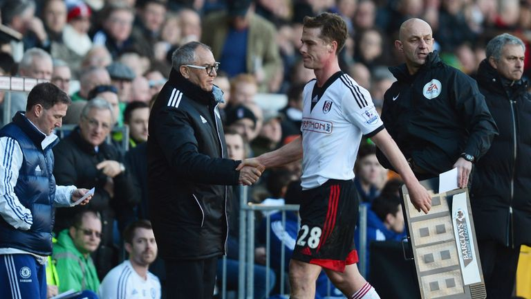 Scott Parker: Admits the Fulham players are still adapting to life under Felix Magath