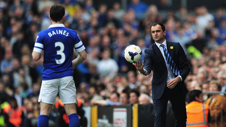 Leighton Baines: Could be part of Roberto Martinez's plans despite knock