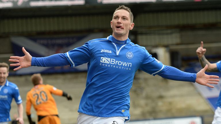 Gary McDonald: Surgery on the cards for the St Johnstone midfielder