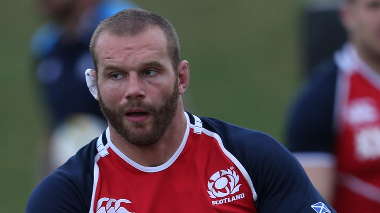 Geoff Cross: Scotland prop will join London Irish in summer