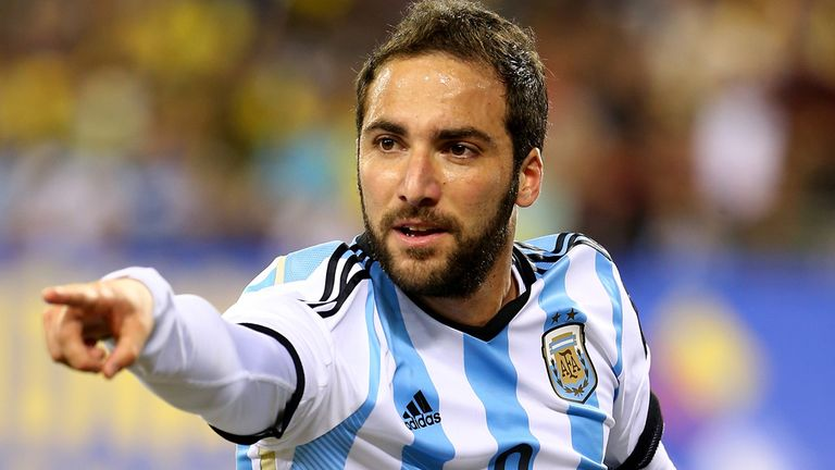 Higuain: will he benefit from Argentina's creativity?