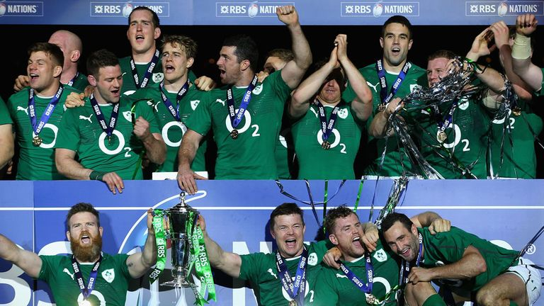 Ireland: Six Nations champions for the first time since 2009