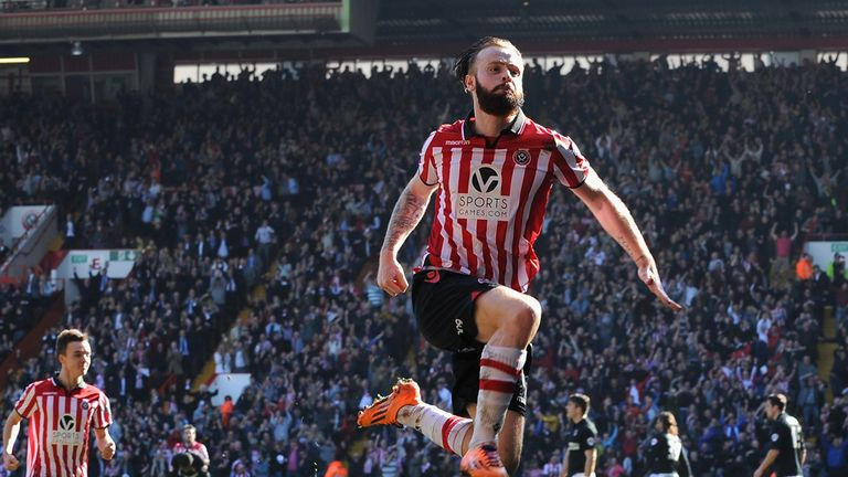 John Brayford: Says he has fallen in love with Sheffield United
