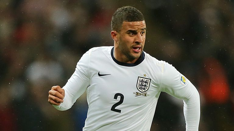 Kyle Walker: Full-back wants to get back in the England team