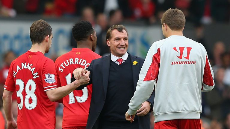 Brendan Rodgers: Six games away from Premier League title