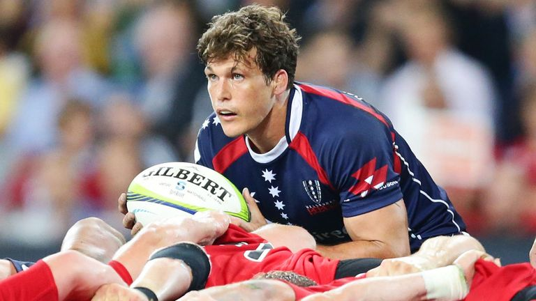 Luke Burgess: Rebels scrum-half out for up to two months
