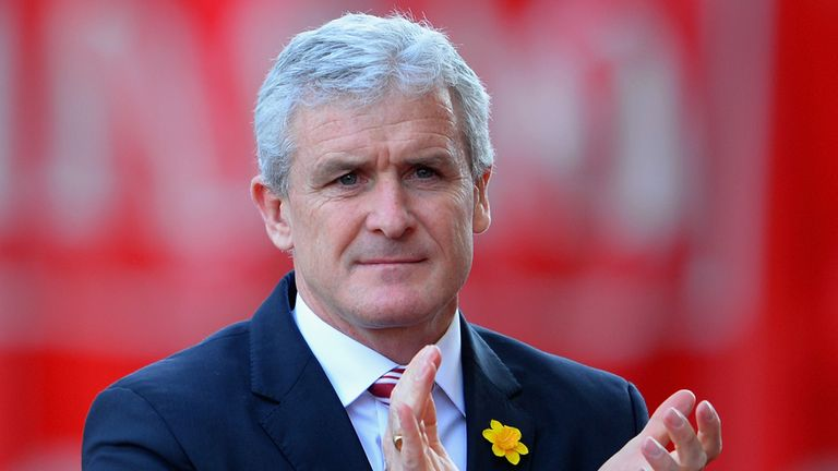 Mark Hughes: Saw his side win