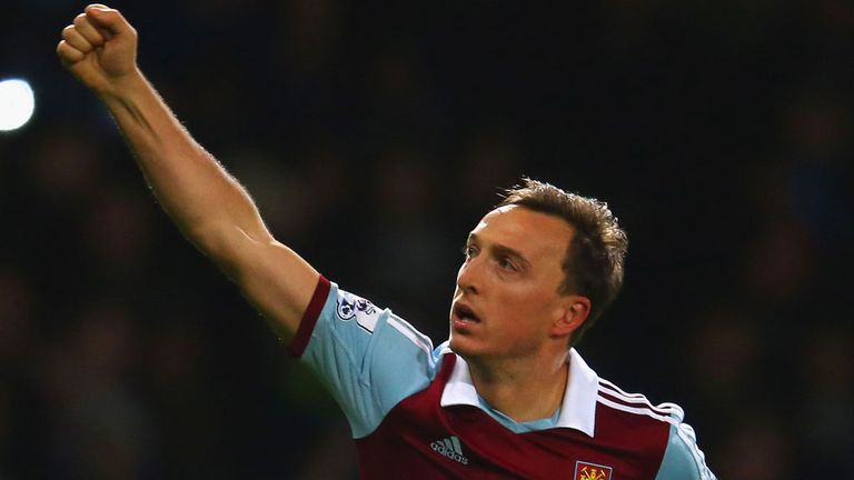 Mark Noble: The West Ham midfielder has told supporters to get behind the team.