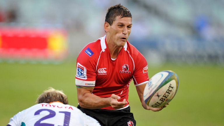 Marnitz Boshoff: only member of the Lions back line to retain his place