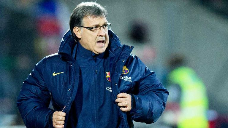Gerardo Martino: Barcelona boss has confidence in his team's chances of success this season
