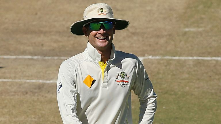 Michael Clarke: Has fractured his shoulder