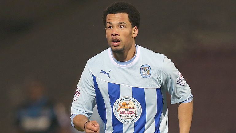 Nathan Eccleston: Has enjoyed getting regular minutes under his belt at Coventry