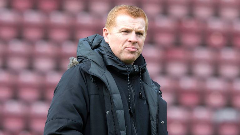 Neil Lennon: Pleased with his team's recent form