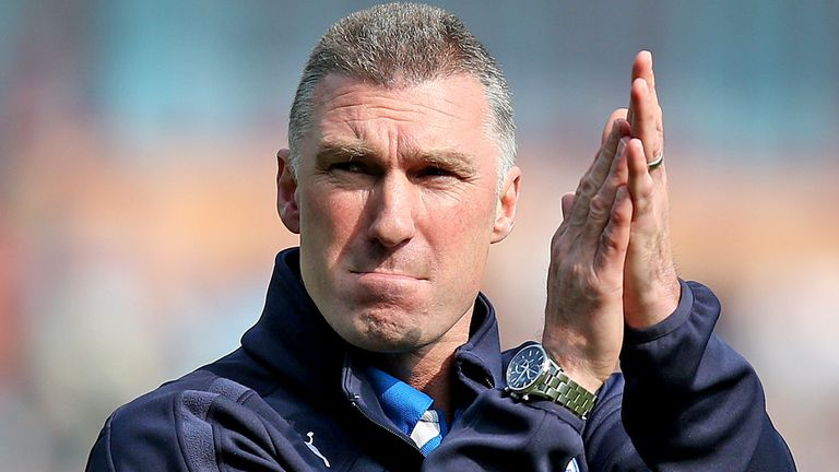 Nigel Pearson: Wants his squad to play without fear