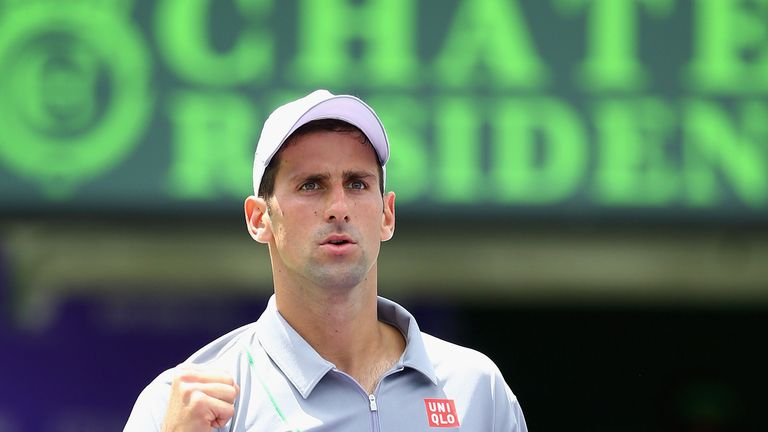 Novak Djokovic: Bidding for a fourth Miami title