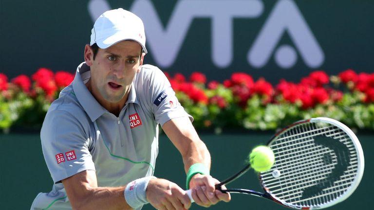 Novak Djokovic: Eased past Julien Benneteau to reach semi-finals at Indian Wells