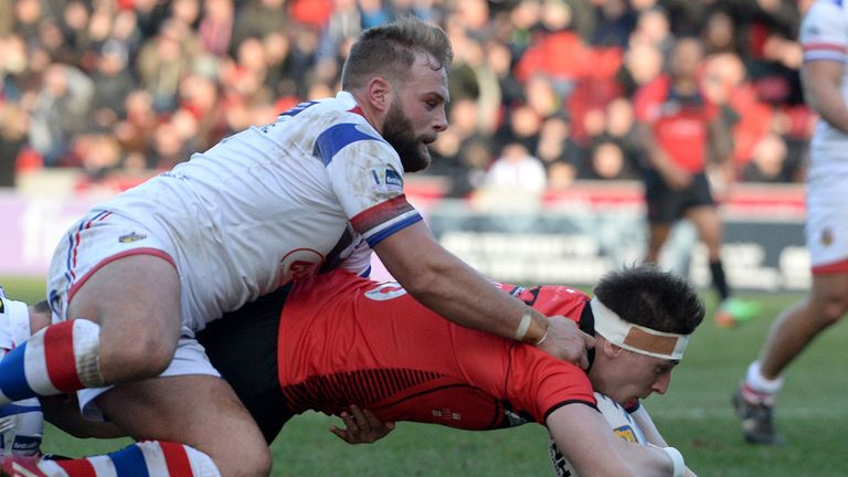 Paul McShane (left): Wakefield hooker to face disciplinary hearing