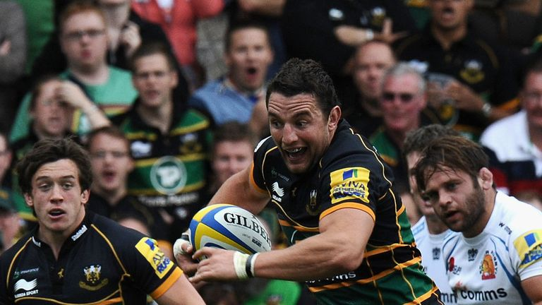 Phil Dowson was relieved to make his 200th appearance
