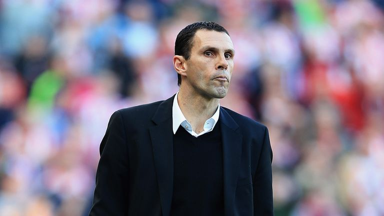 Gus Poyet: Aiming to get Sunderland to 40 points