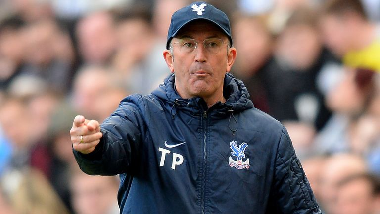 Tony Pulis: Has steered Crystal Palace out of the relegation zone