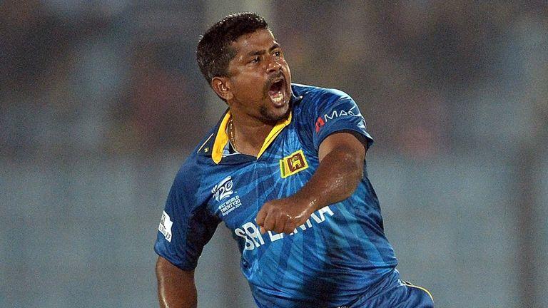 Rangana Herath: five wickets for three runs against New Zealand