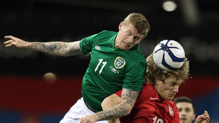 James McClean: Won't be ready to face Georgia