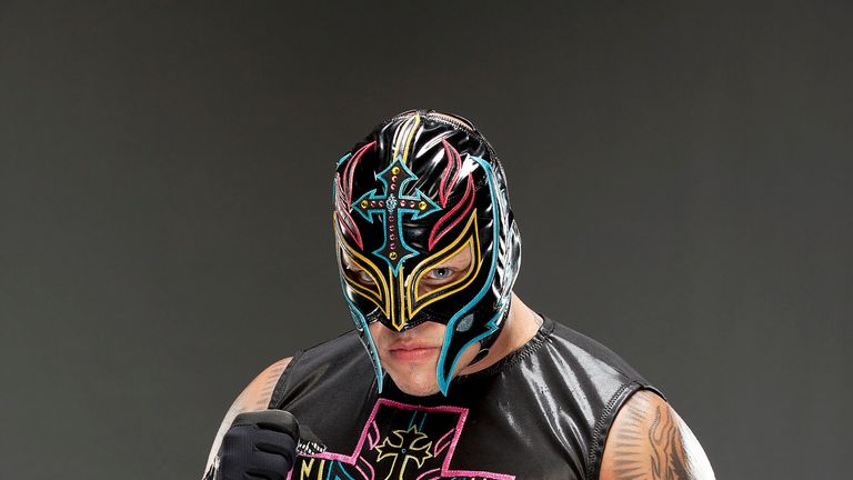 Masked marvel: Mysterio has won three world titles in WWE