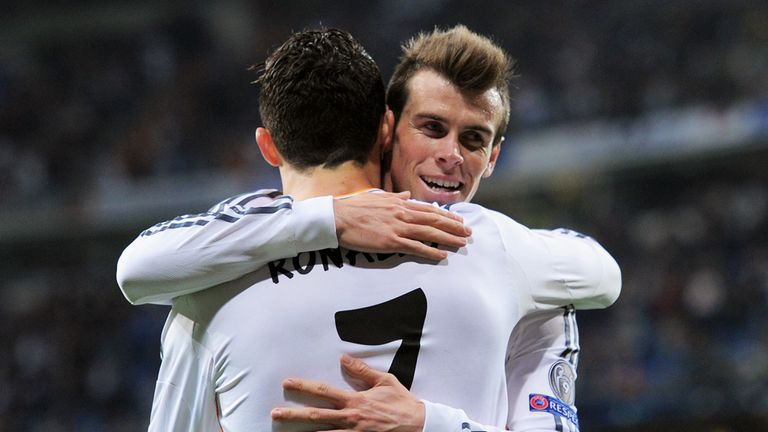 Gareth Bale and Cristiano Ronaldo to kick off a season of 600 live games on Sky Sports 5