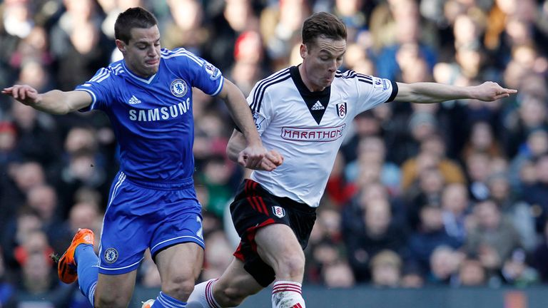 Scott Parker (right): Hopes Fulham hit the ground running