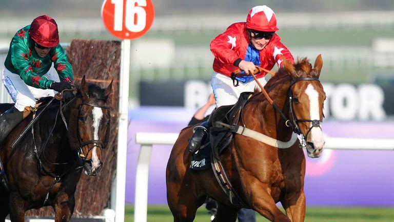 Sire De Grugy was a hugely impressive winner at Cheltenham