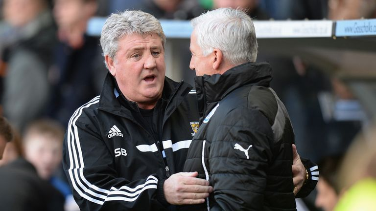 Steve Bruce: Hull City boss accepted Alan Pardew's apology