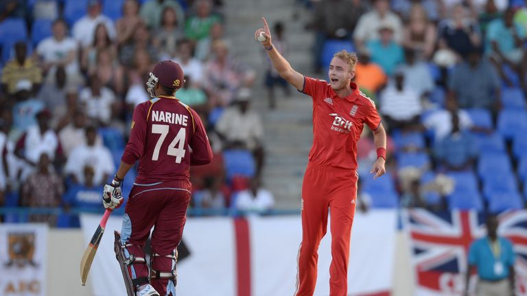 Stuart Broad led England to a comeback win in the ODI series