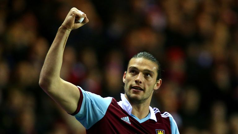 Andy Carroll: Says West Ham's relegation fears are now over for the season
