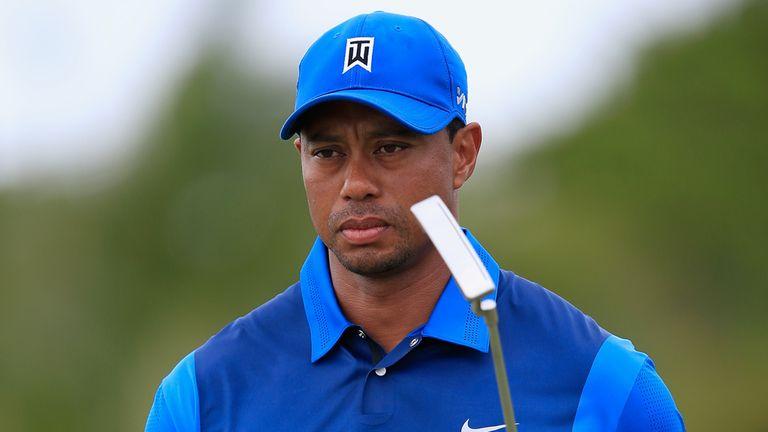 Tiger Woods: Struggled so far