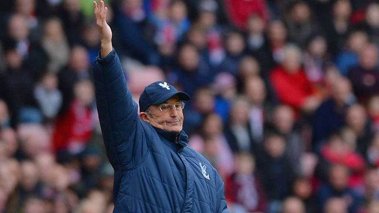 Tony Pulis: Delighted with players