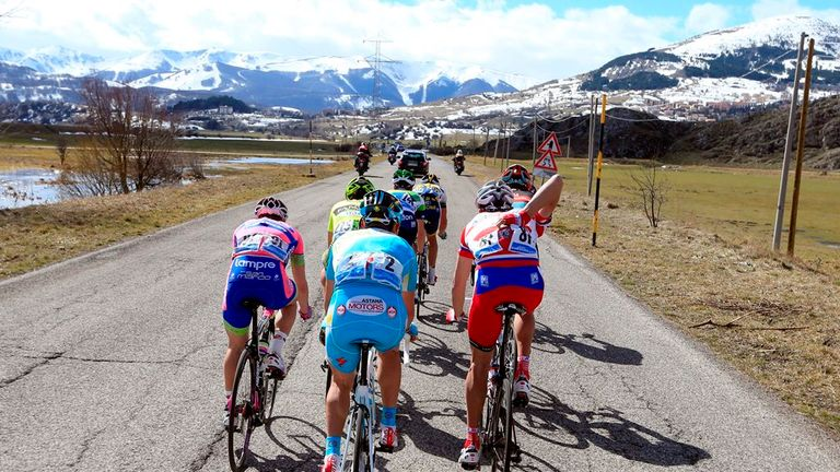 Tirreno-Adriatico takes the riders from the west coast of Italy to the east