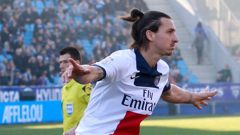 Zlatan Ibrahimovic got PSG going with the first goal