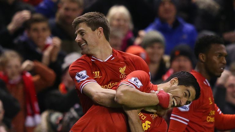 Luis Suarez: Returns to Liverpool with a gift for Steven Gerrard