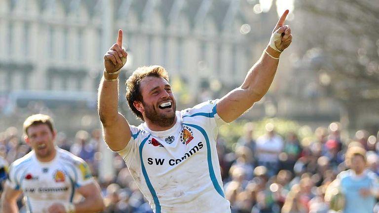 Luke Arscott: Exeter full-back heading to Bath
