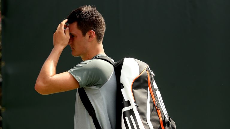 Bernard Tomic: Lost to Jarkko Nieminen in just 28 minutes