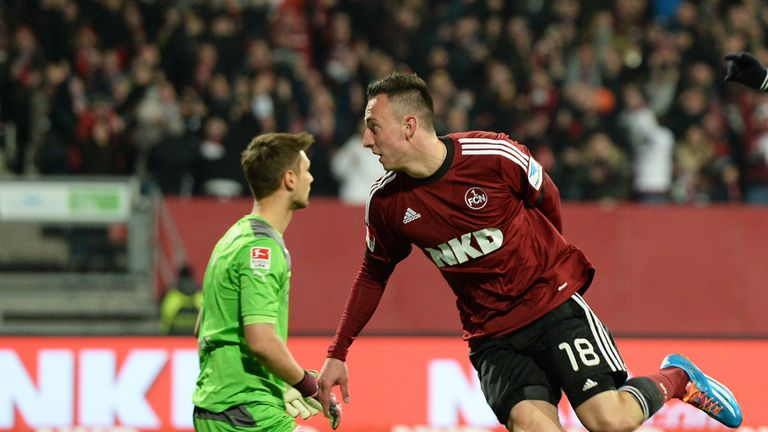Josip Drmic: Fine form for Nurnberg