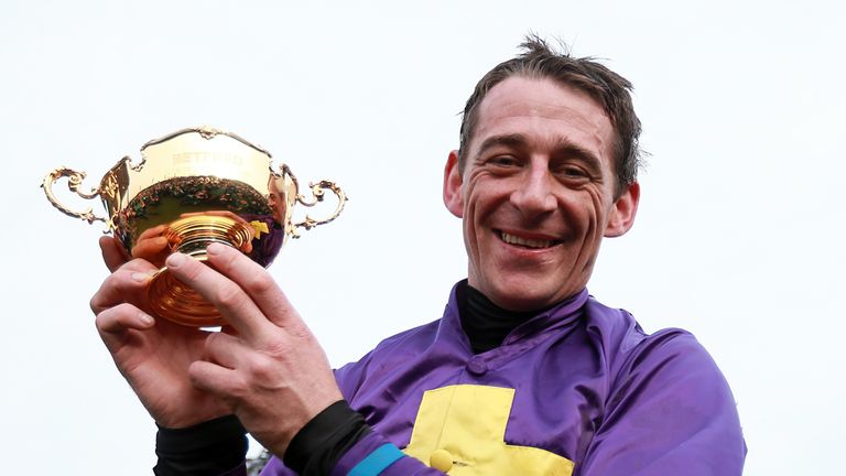 Davy Russell: Enjoyed remarkable Friday at Cheltenham
