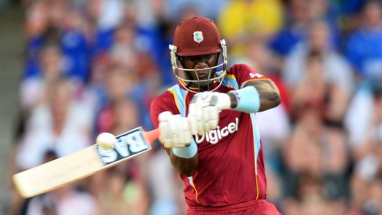 Darren Sammy: Led West Indies to five-wicket win in Barbados