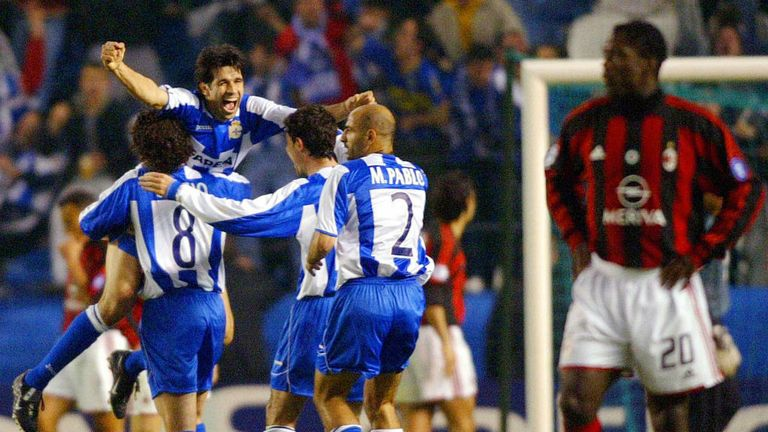 Deportivo La Coruna: Suffered a dramatic fall from grace