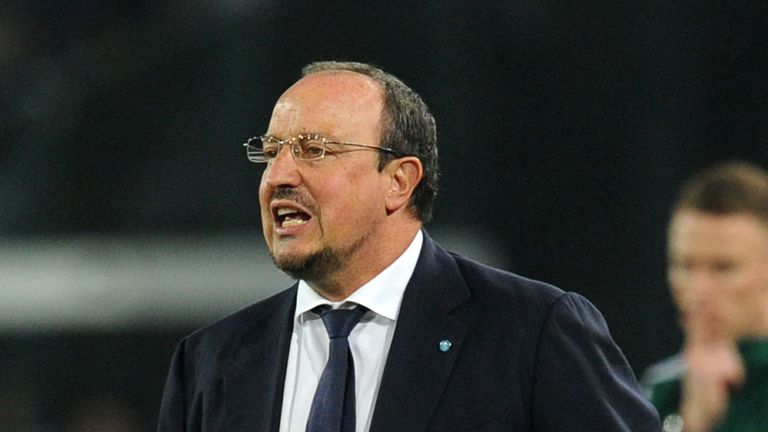 Rafael Benitez: His side were ousted by Porto