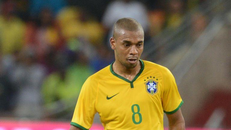 Fernandinho: Impressed Brazil boss Luiz Felipe Scolari